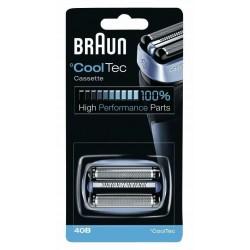 Testina di Ricambio RASOIO Braun 40B Per Rasoi Braun Cooltec - Originale Braun
