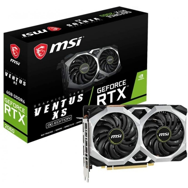 MSI VGA GEFORCE RTX 2060 VENTUS XS...